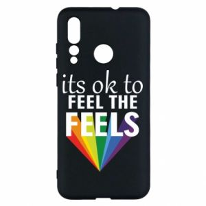 Huawei Nova 4 Case It's ok to feel the feels