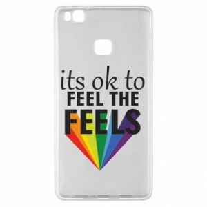 Huawei P9 Lite Case It's ok to feel the feels