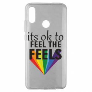 Huawei Honor 10 Lite Case It's ok to feel the feels