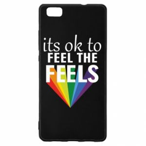 Huawei P8 Lite Case It's ok to feel the feels