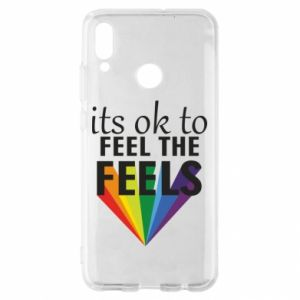 Huawei P Smart 2019 Case It's ok to feel the feels