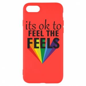 iPhone SE 2020 Case It's ok to feel the feels
