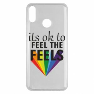 Huawei Y9 2019 Case It's ok to feel the feels