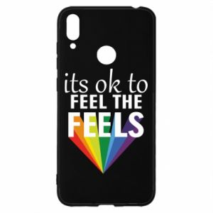Huawei Y7 2019 Case It's ok to feel the feels