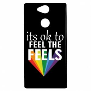 Sony Xperia XA2 Case It's ok to feel the feels