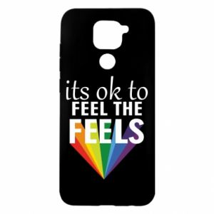 Xiaomi Redmi Note 9 / Redmi 10X case % print% It's ok to feel the feels