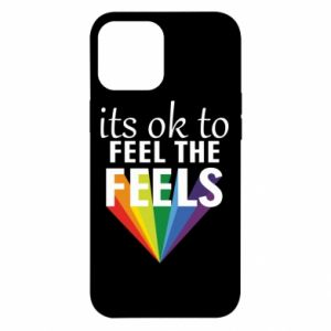 iPhone 12 Pro Max Case It's ok to feel the feels