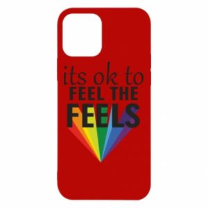 iPhone 12/12 Pro Case It's ok to feel the feels