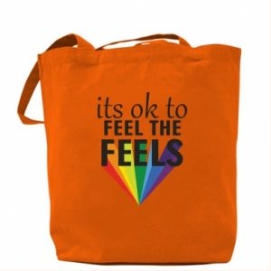 Bag It's ok to feel the feels