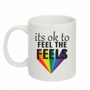 Mug 330ml It's ok to feel the feels