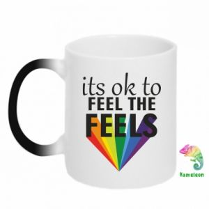 Magic mugs It's ok to feel the feels
