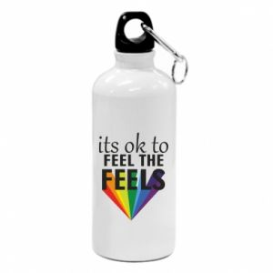 Water bottle It's ok to feel the feels