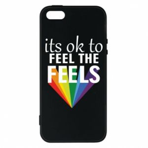 iPhone 5/5S/SE Case It's ok to feel the feels