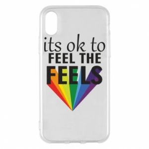 iPhone X/Xs Case It's ok to feel the feels