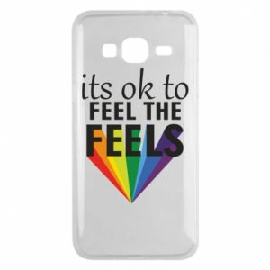 Samsung J3 2016 Case It's ok to feel the feels