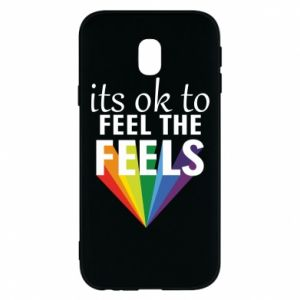 Samsung J3 2017 Case It's ok to feel the feels