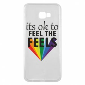 Samsung J4 Plus 2018 Case It's ok to feel the feels