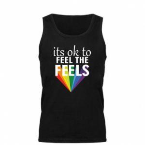 Męska koszulka It's ok to feel the feels