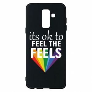 Samsung A6+ 2018 Case It's ok to feel the feels