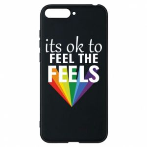 Huawei Y6 2018 Case It's ok to feel the feels