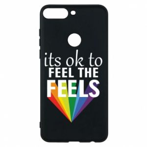 Huawei Y7 Prime 2018 Case It's ok to feel the feels