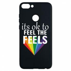Etui na Huawei P Smart It's ok to feel the feels