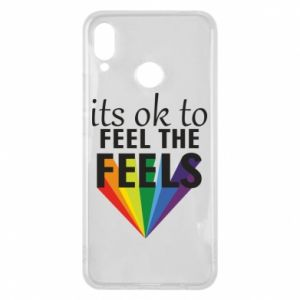 Huawei P Smart Plus Case It's ok to feel the feels
