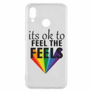 Huawei P20 Lite Case It's ok to feel the feels