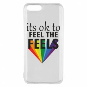 Xiaomi Mi6 Case It's ok to feel the feels