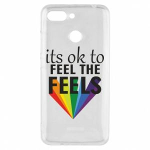 Xiaomi Redmi 6 Case It's ok to feel the feels