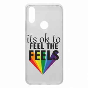 Xiaomi Redmi 7 Case It's ok to feel the feels