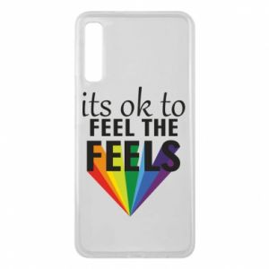 Samsung A7 2018 Case It's ok to feel the feels