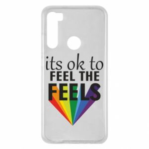 Xiaomi Redmi Note 8 Case It's ok to feel the feels