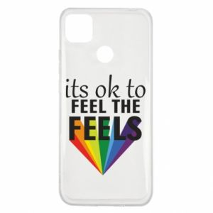 Xiaomi Redmi 9c Case It's ok to feel the feels