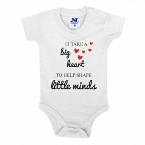 Body dziecięce It take a big heart to help shape little mind