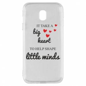 Etui na Samsung J3 2017 It take a big heart to help shape little mind