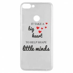 Etui na Huawei P Smart It take a big heart to help shape little mind