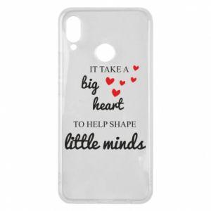 Etui na Huawei P Smart Plus It take a big heart to help shape little mind