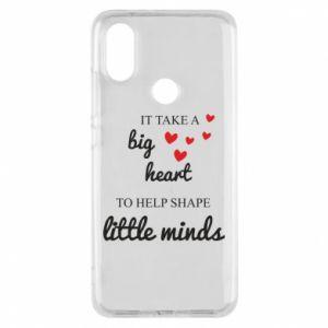 Etui na Xiaomi Mi A2 It take a big heart to help shape little mind