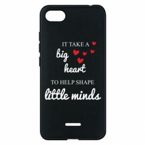 Etui na Xiaomi Redmi 6A It take a big heart to help shape little mind