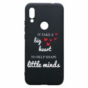Etui na Xiaomi Redmi 7 It take a big heart to help shape little mind