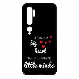 Etui na Xiaomi Mi Note 10 It take a big heart to help shape little mind