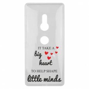 Etui na Sony Xperia XZ2 It take a big heart to help shape little mind