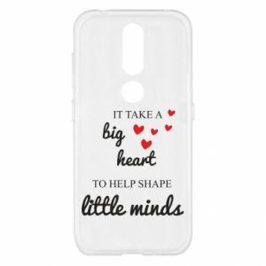 Etui na Nokia 4.2 It take a big heart to help shape little mind