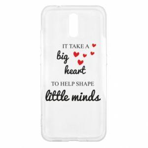 Etui na Nokia 2.3 It take a big heart to help shape little mind