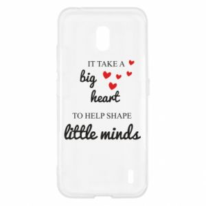 Etui na Nokia 2.2 It take a big heart to help shape little mind