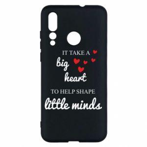 Etui na Huawei Nova 4 It take a big heart to help shape little mind