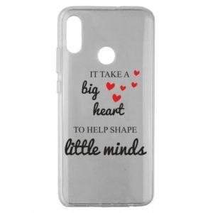 Etui na Huawei Honor 10 Lite It take a big heart to help shape little mind