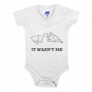 Baby bodysuit It wasn't me