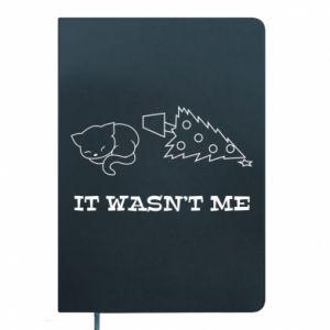 Notepad It wasn't me